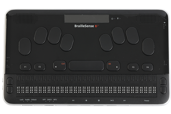 Image of the BrailleSense 6, 32-cell notetaker